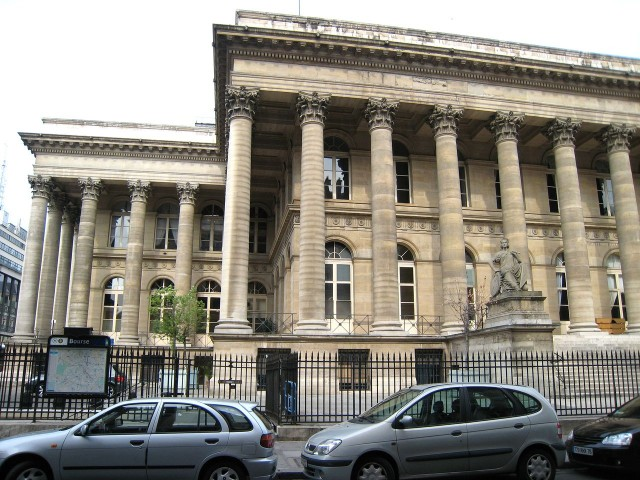 Дворец Броньяр (Palais Brongniart)