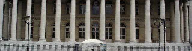 Биржевой дворец Броньяр (Palais Brongniart)