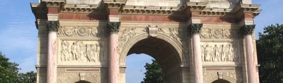 Триумфальная арка на площади Каррузель (L'arc de triomphe du Carrousel)