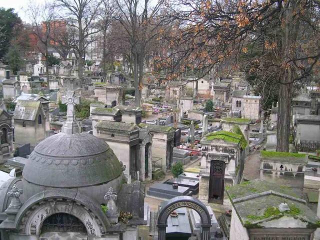 Кладбище Монмартр (Cimetière de Montmartre)