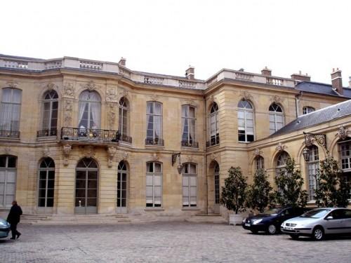 Дворец Матиньон (Hôtel Matignon)