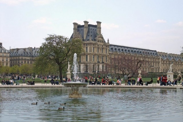 Сад Тюильри (le jardin des Tuileries)