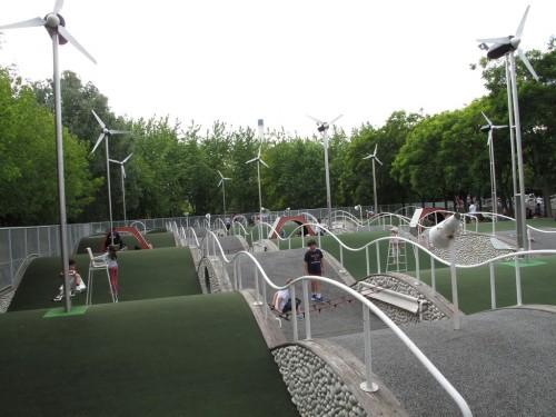 Парк Ла-Виллет  (parc de La Villette)