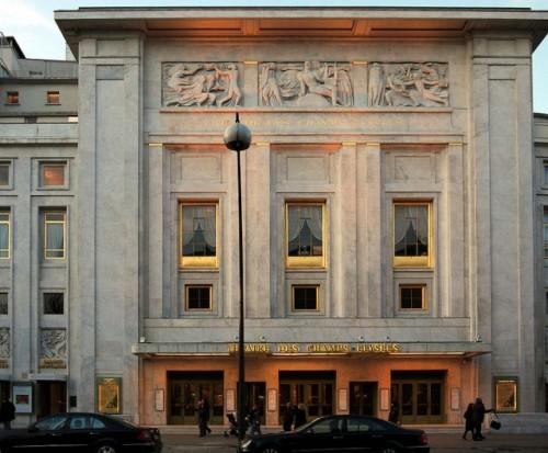 Театр Елисейских Полей (Théâtre des Champs-Élysées)