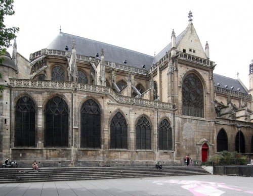 Церковь Сен-Мерри (Église Saint-Merri)