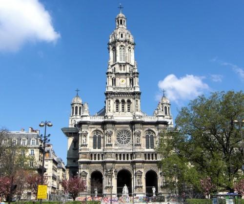 Церковь Святой Троицы или Сент-Трините (Église de la Sainte-Trinité)