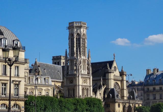 Церковь Сен-Жермен-л'Осерруа и колокольня