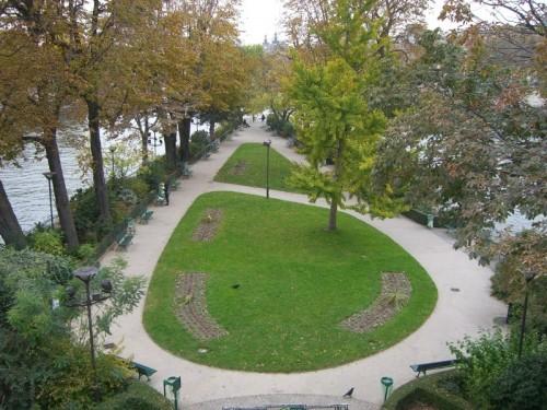 Сквер Вер-Галан (Vert Galant)