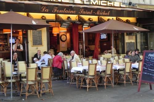 Бульвар Сен-Мишель (Boulevard Saint-Michel)