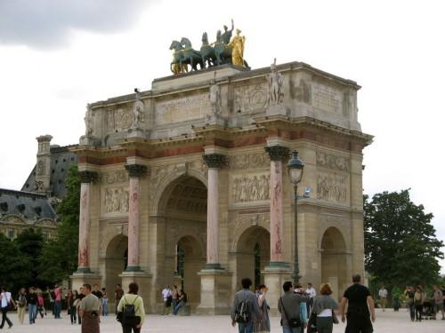 Триумфальная Арка Карузель ( Arc de Triomphe du Carrousel)