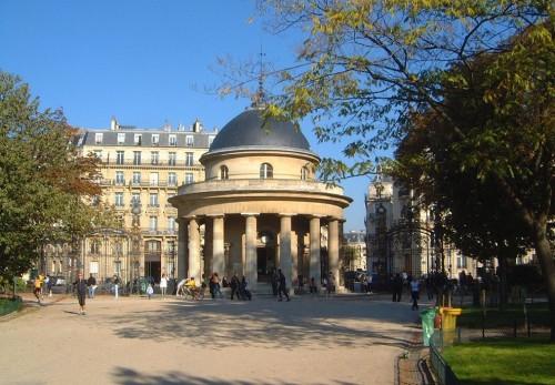 Парк Монсо (Parc Monceau)
