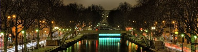 Канал Сен-Мартен (Canal Saint-Martin)
