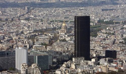 Башня Монпарнас (tour Montparnasse)