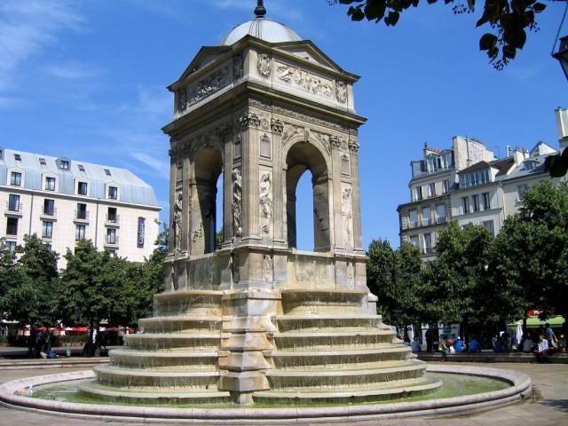Фонтан Невинных (Fontaine des Innocents)