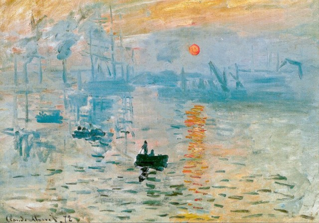 Клод Моне «Впечатление. Восход солнца» (Claude Monet - Impression, soleil levant), 1873г.