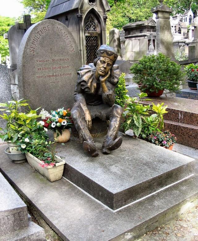 Могила Нижинского, кладбище Монмартр (Cimetière de Montmartre)
