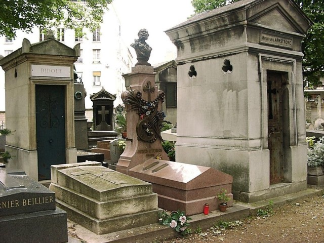 Могила Жака Оффенбаха, Кладбище Монмартр (Cimetière de Montmartre)