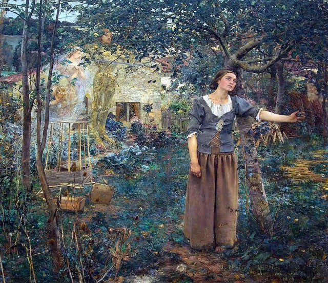 Видение Жанны д'Арк (Жюль Бастьен-Лепаж, 1879 год)