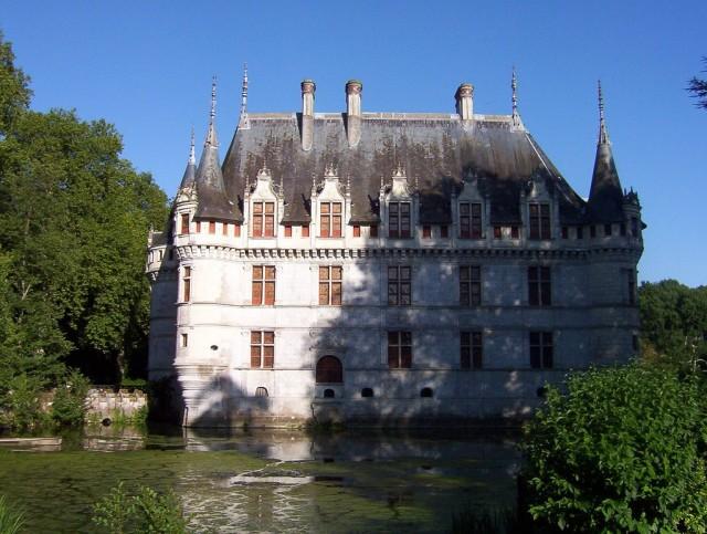 Замок Азей-лё-Ридо (Château d'Azay-le-Rideau)