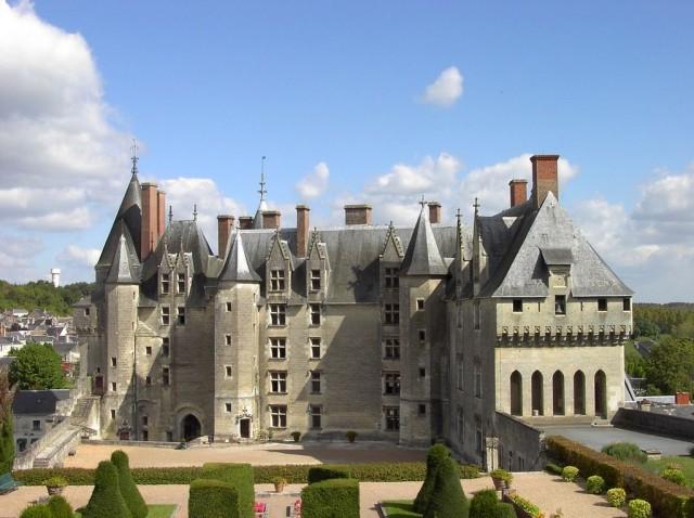 Замок Ланже (Château de Langeais)