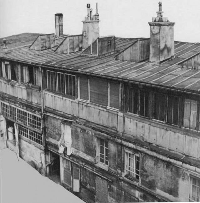 Здание Бато-Лавуар в начале ХХ века