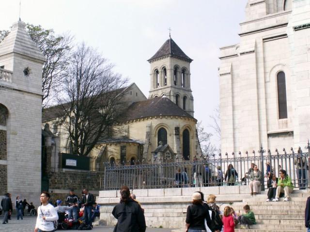 Церковь святого Петра на Монмартре (Église Saint-Pierre de Montmartre)