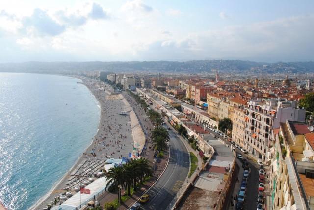Английская набережная (Promenade des Anglais), Ницца