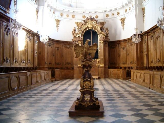 Хор церкви Сен-Бруно