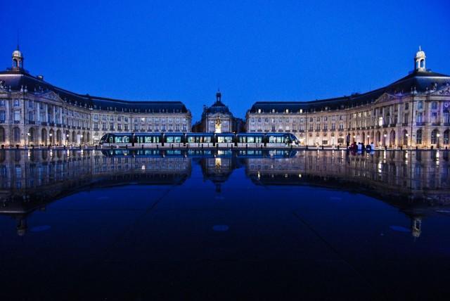 Биржевая площадь Бордо (Place de la Bourse de Bordeaux)
