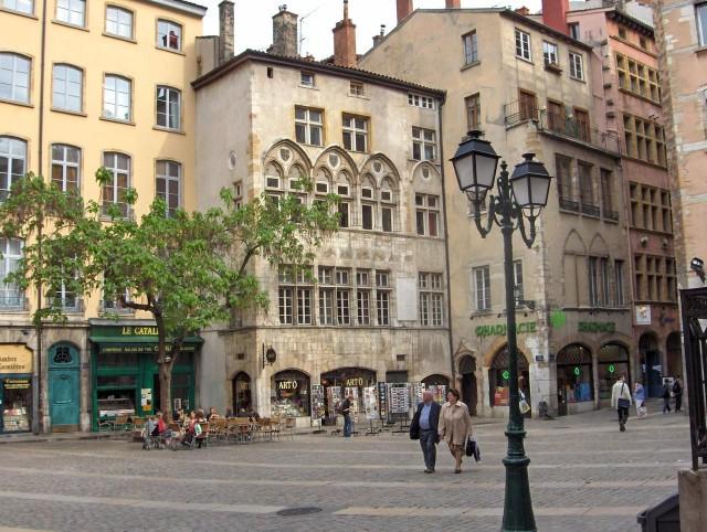 Старый город (Vieux Lyon)