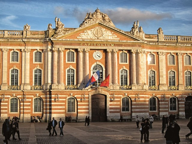 Здание Капитолия (Capitole de Toulouse)
