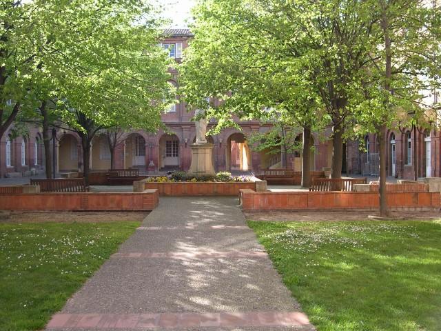 Сад больницы