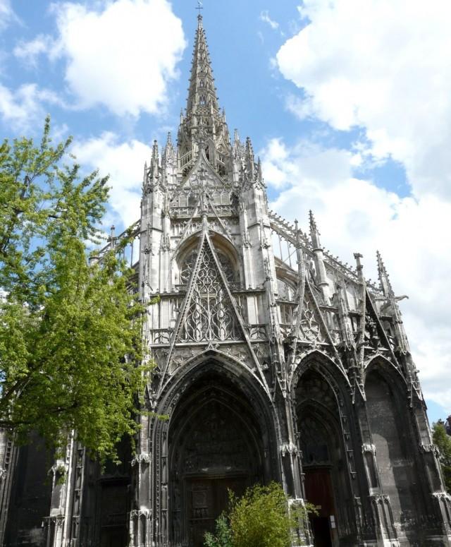 Церковь святого Маклу (Église Saint-Maclou)
