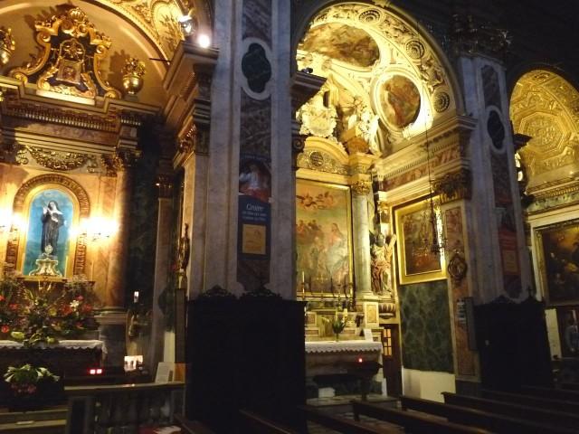 Интерьер Собор святой Репараты