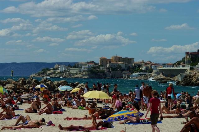 Пляж Марселя