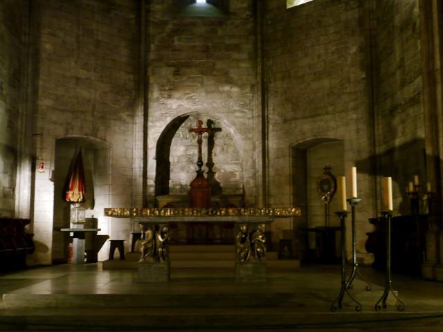 Интерьер церкви аббатства