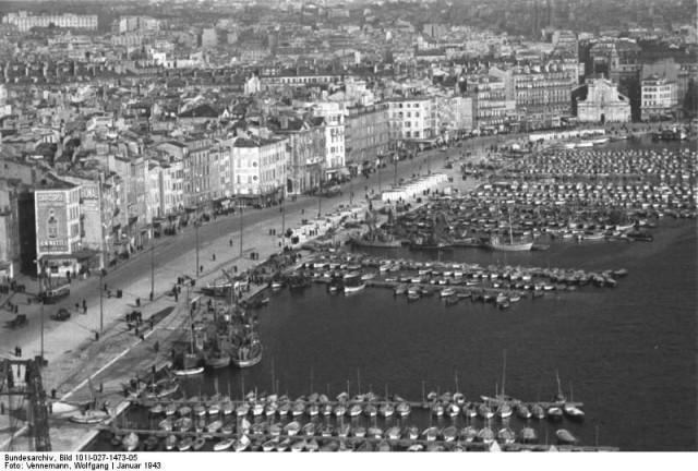 Старый Порт до бомбардировки 1943 года