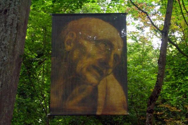 Шёлковые ткани с изображениями по мотивам картин да Винчи