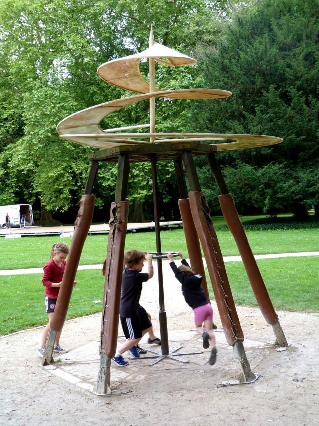 Парк и сад Леонардо да Винчи (фото C Bourne)