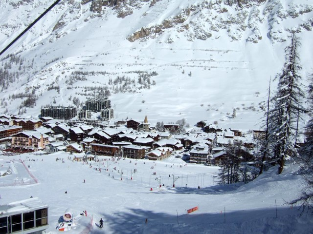 Курорт Валь-д'Изер (Val d'Isère)