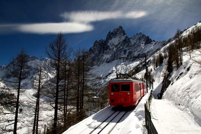 Горная железная дорога Chemin de fer du Montenvers