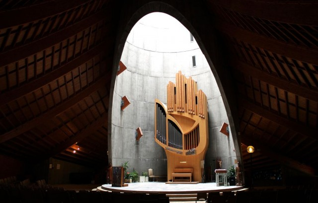 Орган церкви Богоматери Снегов