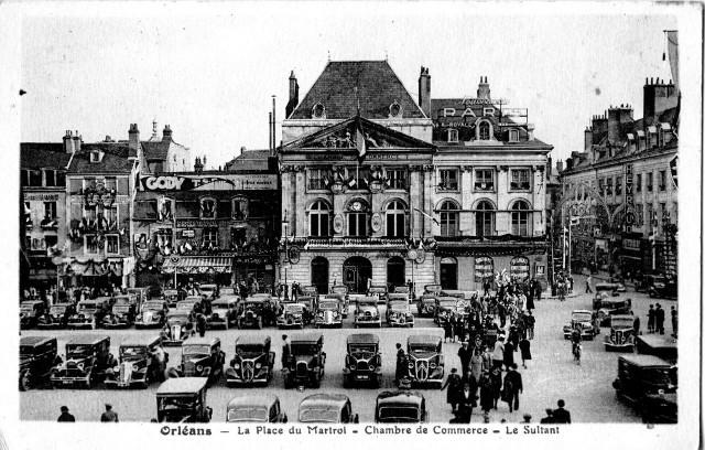 Площадь Мартруа 1937 г.  (Place du Martroi)