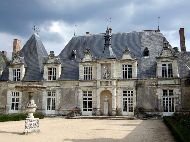Замок Вильсавен (Château de Villesavin)