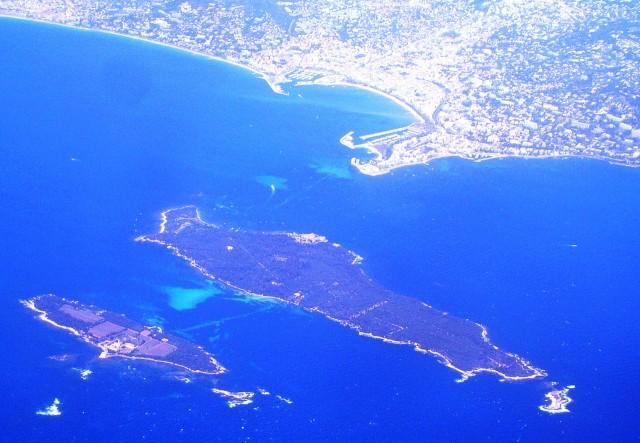 Вид острова с самолёта