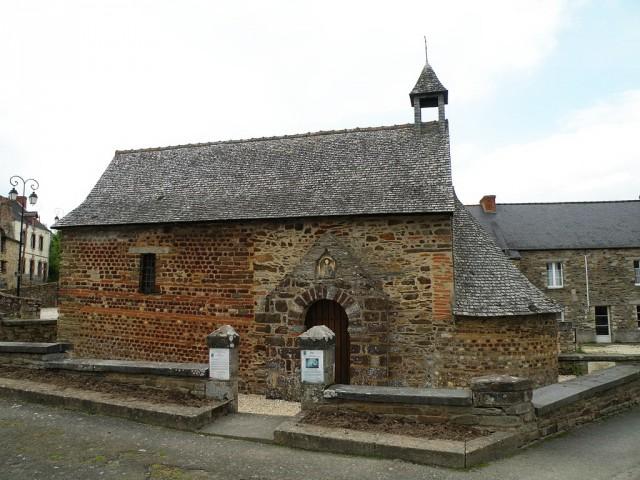 Часовня Сент-Агат (IV в.) в Лангоне