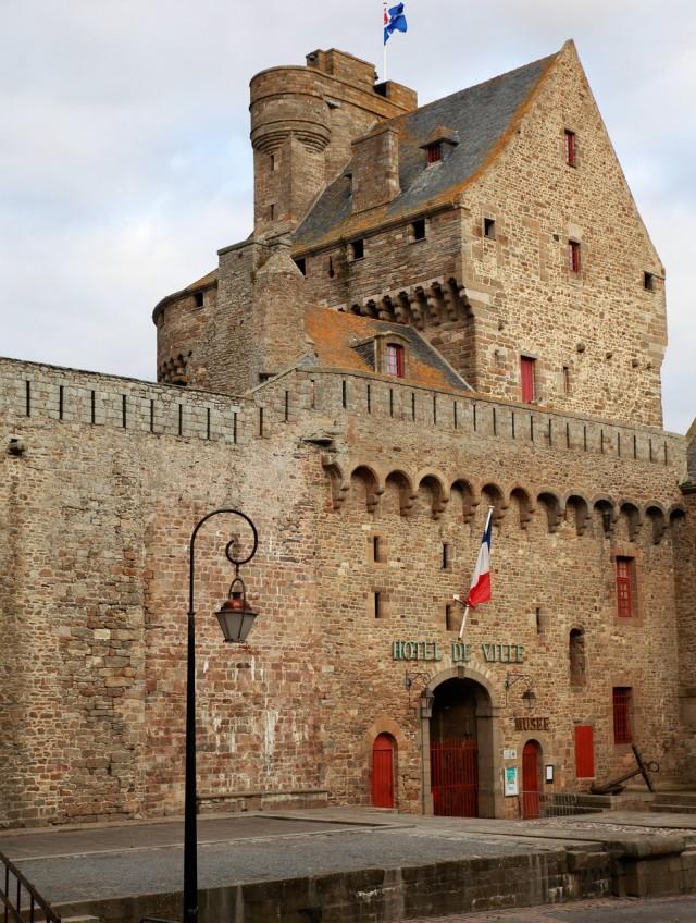 Замок Сен-Мало