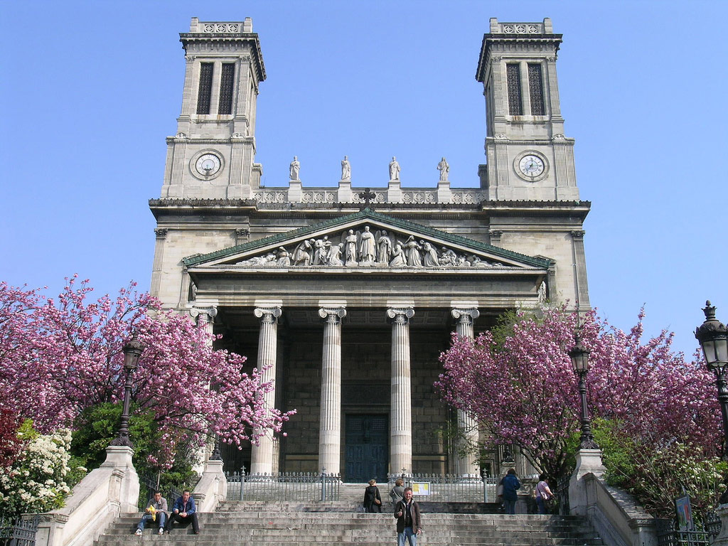 Церковь Святого Венсана де Поля