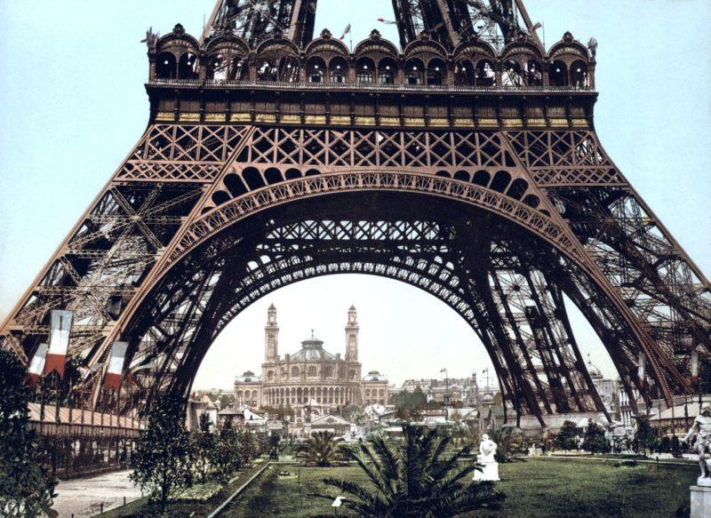 Дворец Трокадеро (Palais du Trocadéro) в конце XIX века