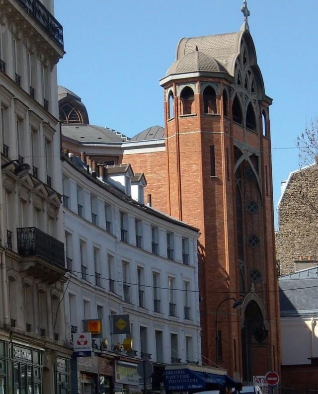 Церковь Сен-Жан-де-Монмартр (l'église Saint-Jean de Montmartre)